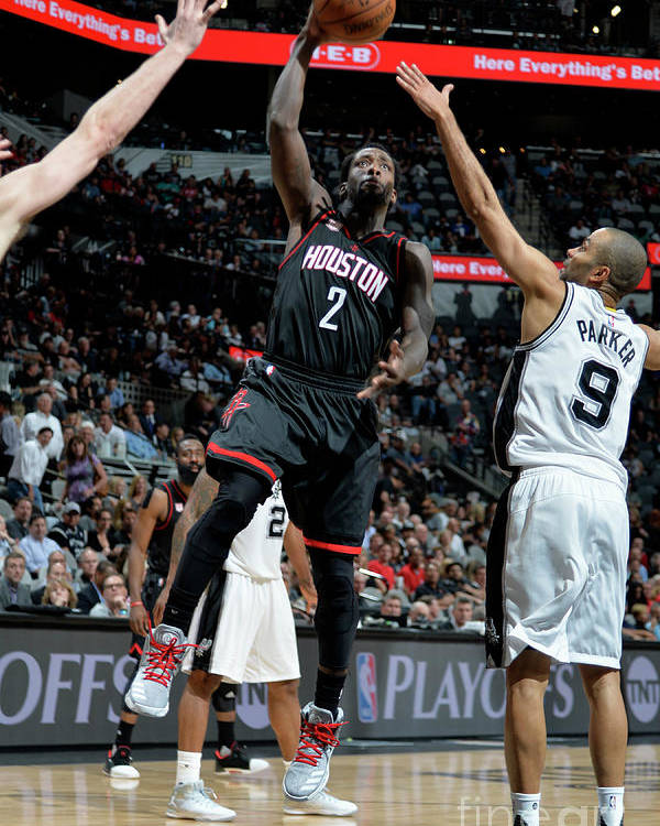 Game Two Poster featuring the photograph Patrick Beverley by Mark Sobhani