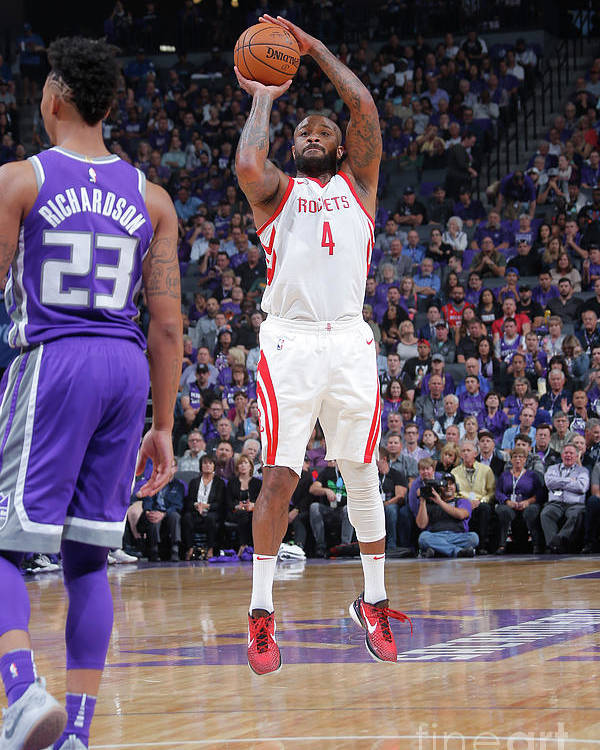 Nba Pro Basketball Poster featuring the photograph P.j. Tucker by Rocky Widner