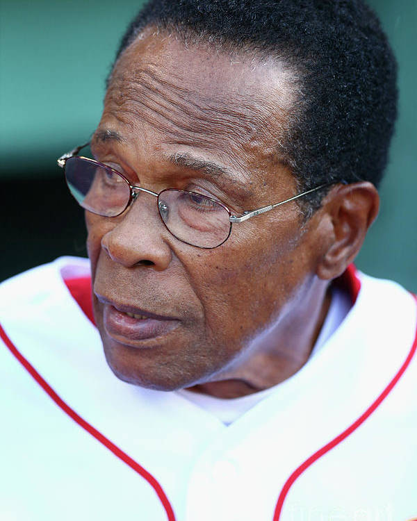 People Poster featuring the photograph Rod Carew by Maddie Meyer