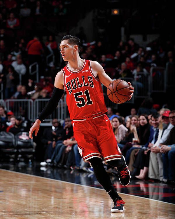 Nba Pro Basketball Poster featuring the photograph Ryan Arcidiacono by Jeff Haynes