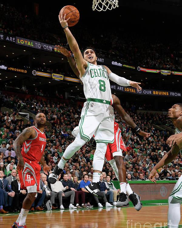 Nba Pro Basketball Poster featuring the photograph Shane Larkin by Brian Babineau