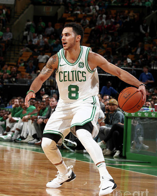 Nba Pro Basketball Poster featuring the photograph Shane Larkin by Nathaniel S. Butler