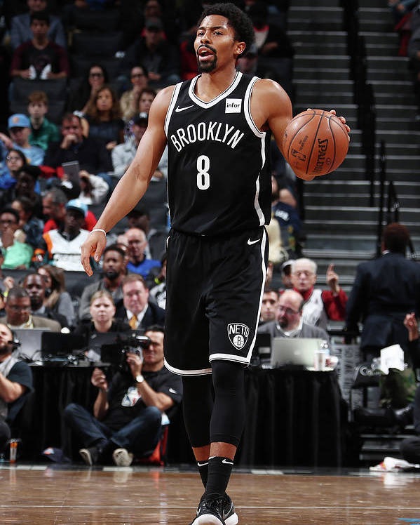 Sport Poster featuring the photograph Spencer Dinwiddie by Nathaniel S. Butler