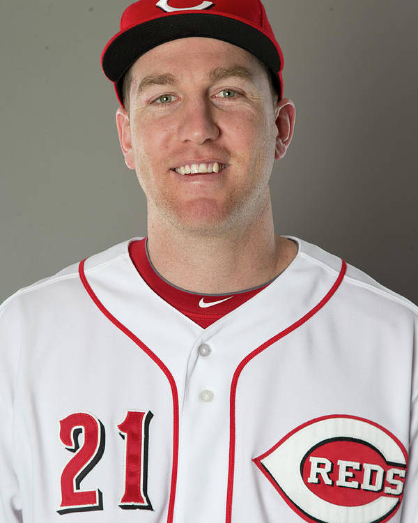 People Poster featuring the photograph Todd Frazier by Mike Mcginnis
