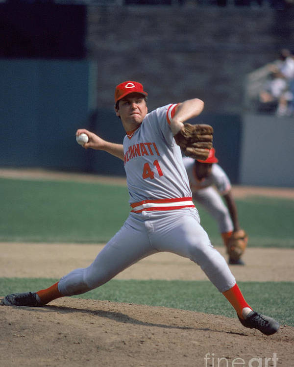 Tom Seaver Poster featuring the photograph Tom York by Rich Pilling
