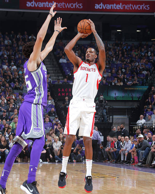 Nba Pro Basketball Poster featuring the photograph Trevor Ariza by Rocky Widner