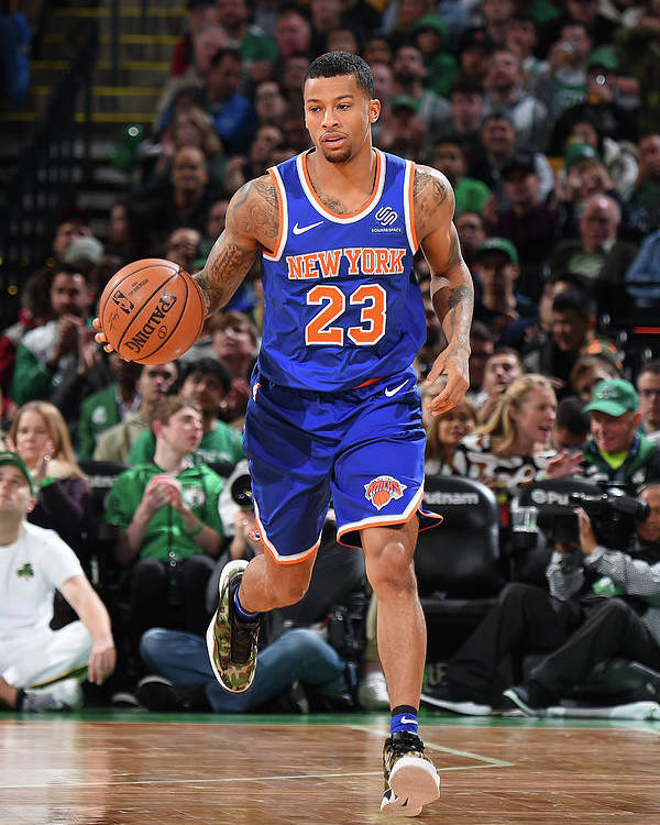 Nba Pro Basketball Poster featuring the photograph Trey Burke by Brian Babineau