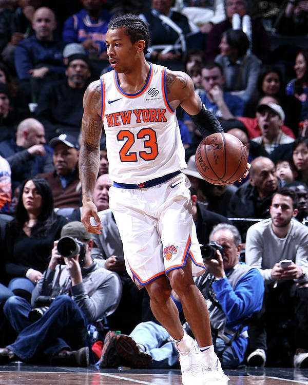 Nba Pro Basketball Poster featuring the photograph Trey Burke by Nathaniel S. Butler