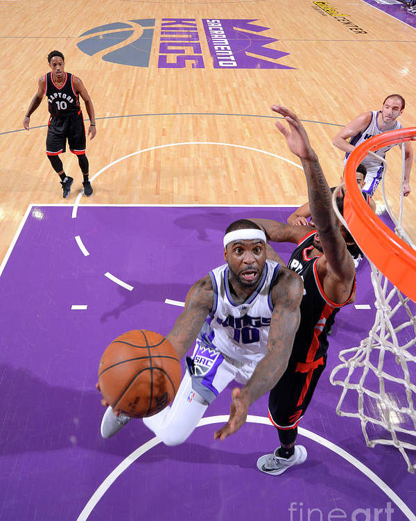 Nba Pro Basketball Poster featuring the photograph Ty Lawson by Rocky Widner