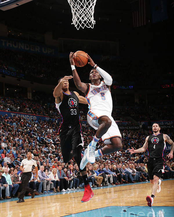 Nba Pro Basketball Poster featuring the photograph Victor Oladipo by Layne Murdoch