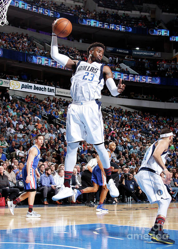 Nba Pro Basketball Poster featuring the photograph Wesley Matthews by Danny Bollinger