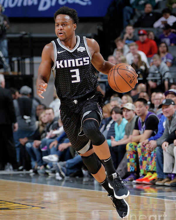 Nba Pro Basketball Poster featuring the photograph Yogi Ferrell by Rocky Widner