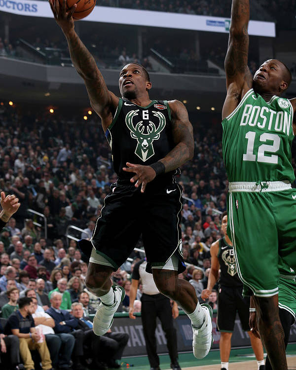 Nba Pro Basketball Poster featuring the photograph Eric Bledsoe by Gary Dineen