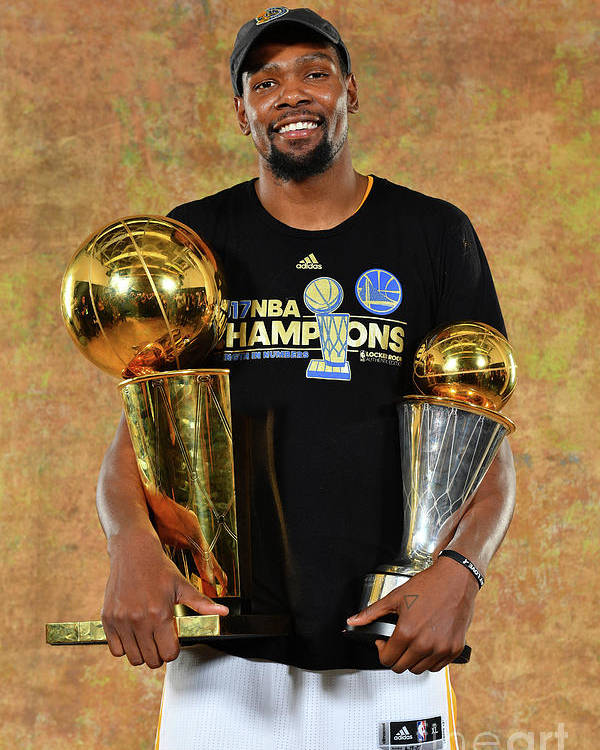 Playoffs Poster featuring the photograph Kevin Durant by Jesse D. Garrabrant