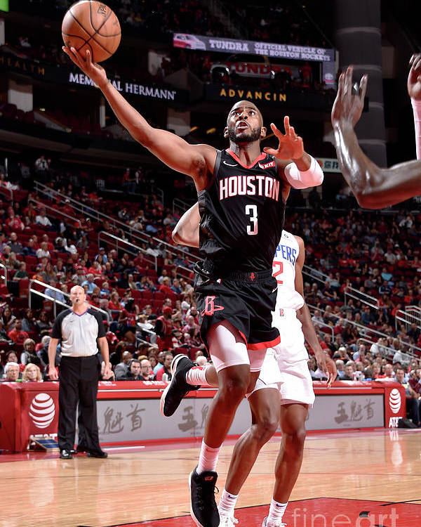 Nba Pro Basketball Poster featuring the photograph Chris Paul by Bill Baptist
