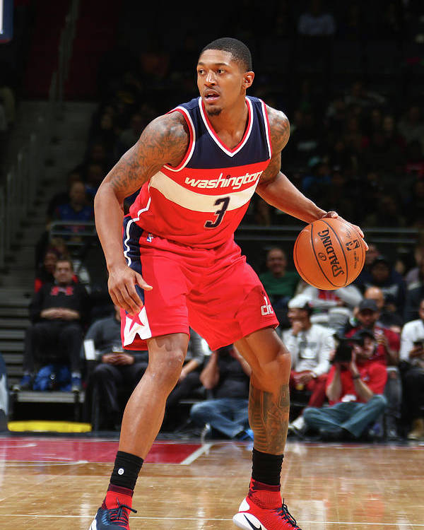 Nba Pro Basketball Poster featuring the photograph Bradley Beal by Ned Dishman