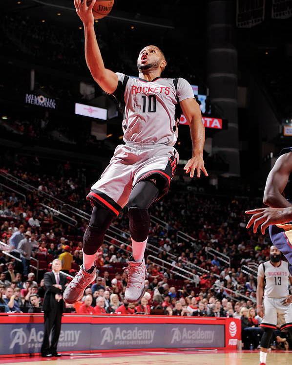 Nba Pro Basketball Poster featuring the photograph Eric Gordon by Bill Baptist