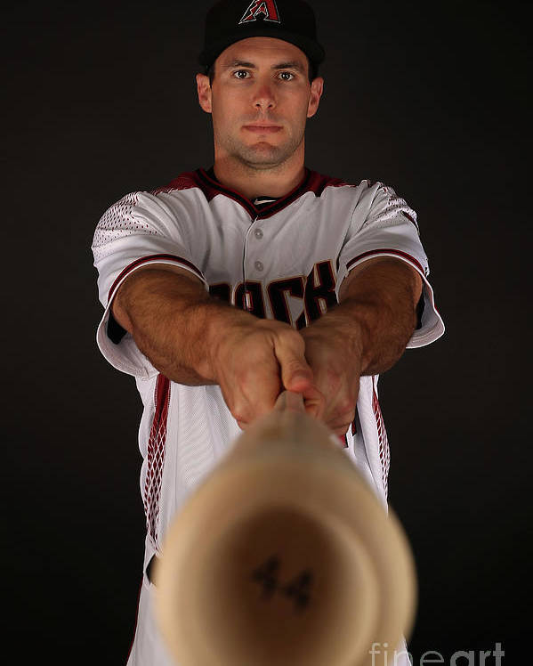 Media Day Poster featuring the photograph Paul Goldschmidt by Christian Petersen