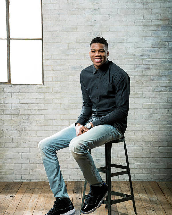 Nba Pro Basketball Poster featuring the photograph Giannis Antetokounmpo by Nathaniel S. Butler