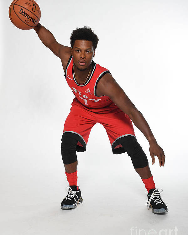 Media Day Poster featuring the photograph Kyle Lowry by Ron Turenne