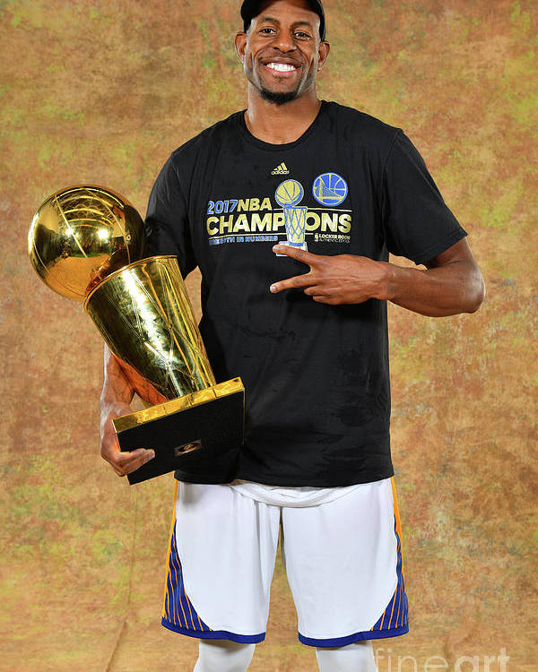 Playoffs Poster featuring the photograph Andre Iguodala by Jesse D. Garrabrant