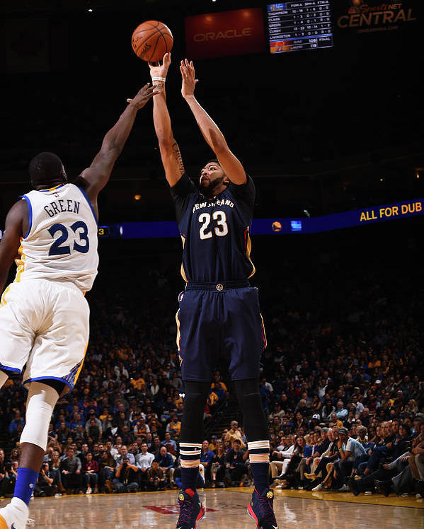 Nba Pro Basketball Poster featuring the photograph Anthony Davis by Noah Graham