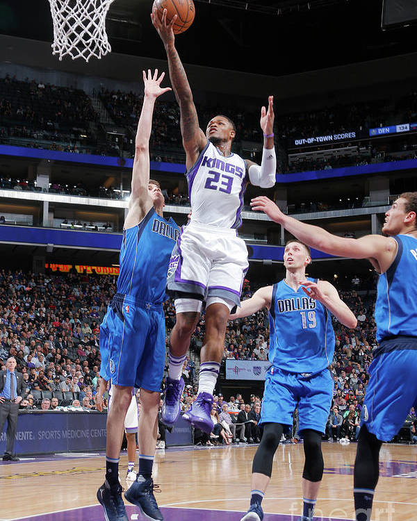 Nba Pro Basketball Poster featuring the photograph Ben Mclemore by Rocky Widner