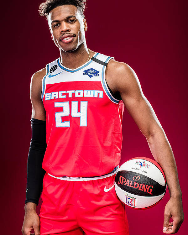 Nba Pro Basketball Poster featuring the photograph Buddy Hield by Michael J. LeBrecht II