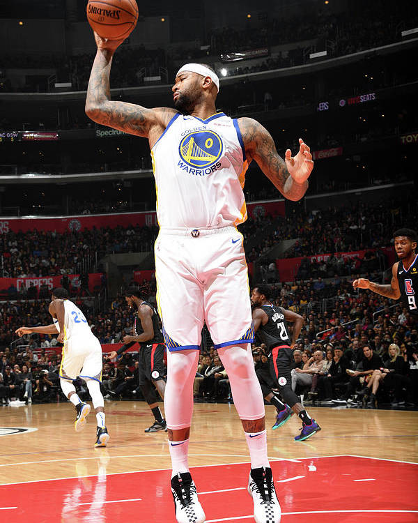Nba Pro Basketball Poster featuring the photograph Demarcus Cousins by Andrew D. Bernstein