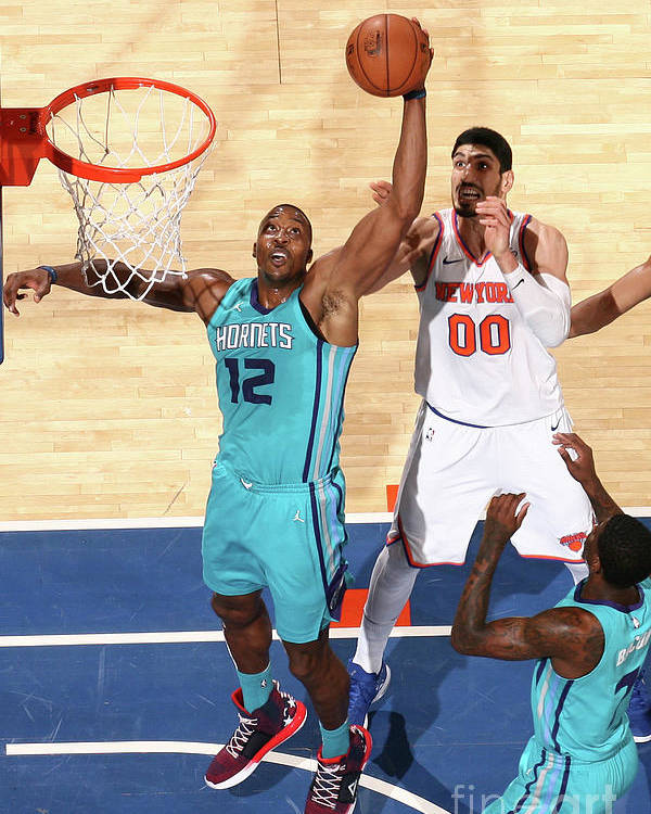 Nba Pro Basketball Poster featuring the photograph Dwight Howard by Nathaniel S. Butler