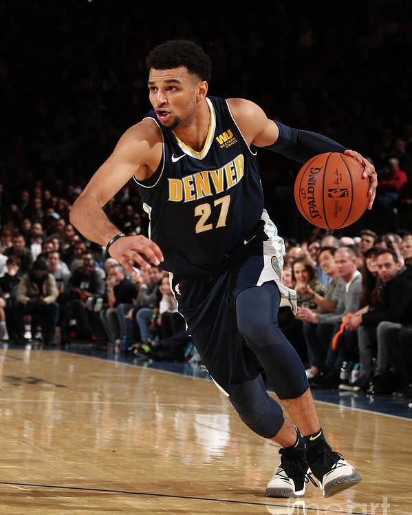 Nba Pro Basketball Poster featuring the photograph Jamal Murray by Nathaniel S. Butler