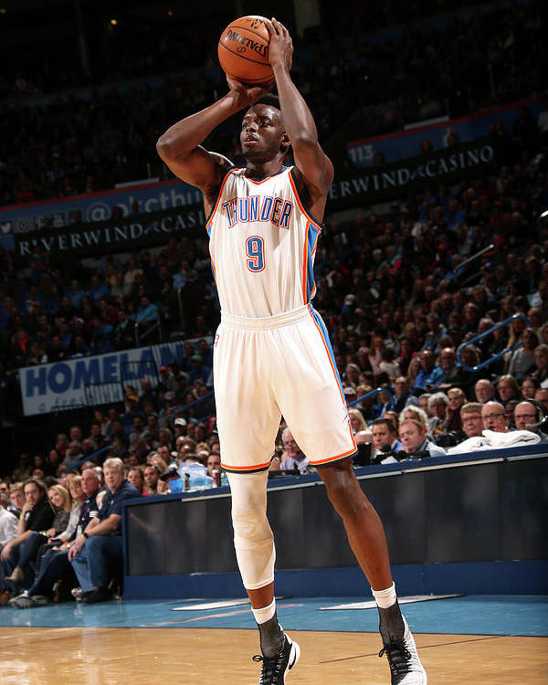 Nba Pro Basketball Poster featuring the photograph Jerami Grant by Layne Murdoch
