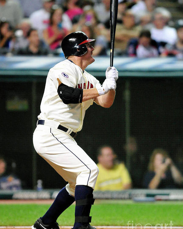 People Poster featuring the photograph Jim Thome by Jason Miller