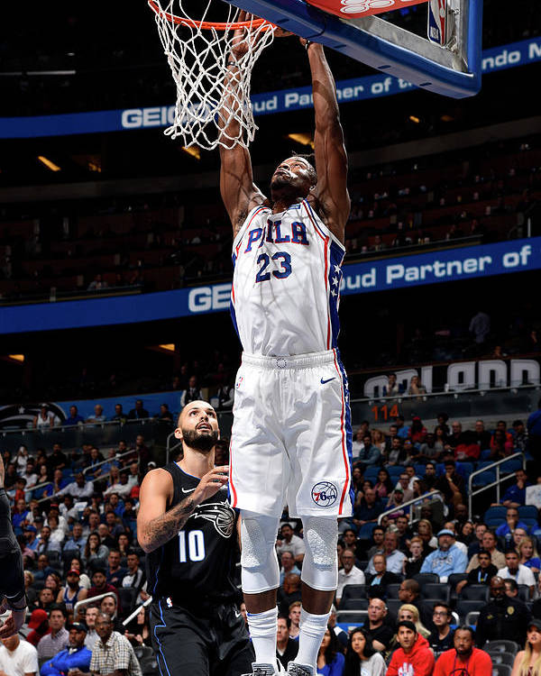 Nba Pro Basketball Poster featuring the photograph Jimmy Butler by Gary Bassing