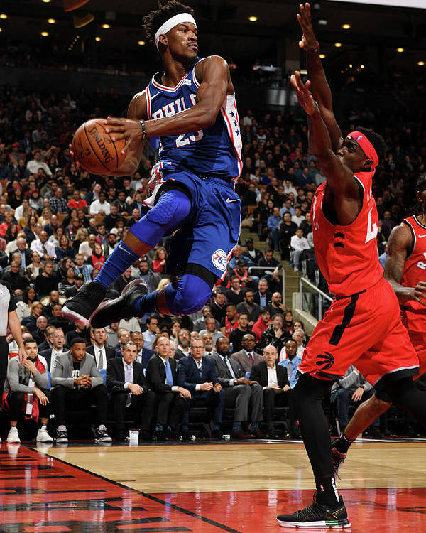 Nba Pro Basketball Poster featuring the photograph Jimmy Butler by Ron Turenne