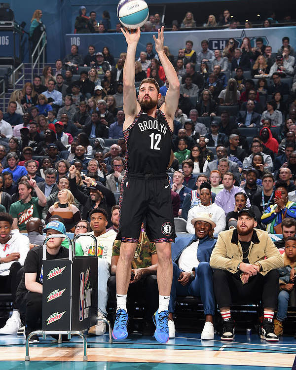 Nba Pro Basketball Poster featuring the photograph Joe Harris by Andrew D. Bernstein