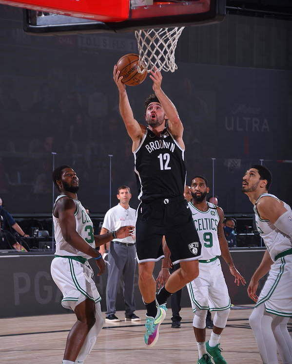 Nba Pro Basketball Poster featuring the photograph Joe Harris by Bill Baptist