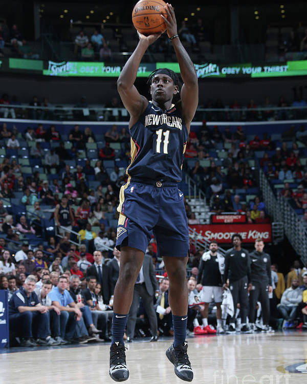 Smoothie King Center Poster featuring the photograph Jrue Holiday by Layne Murdoch