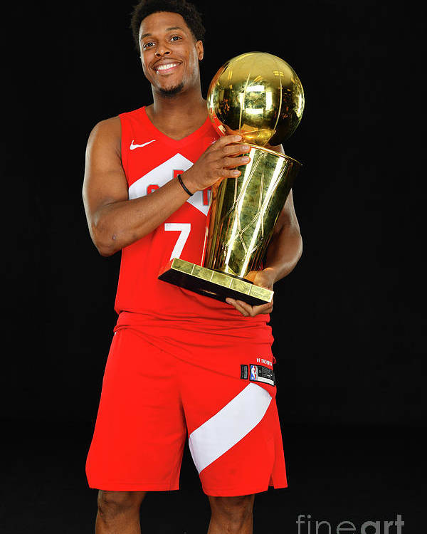Playoffs Poster featuring the photograph Kyle Lowry by Jesse D. Garrabrant
