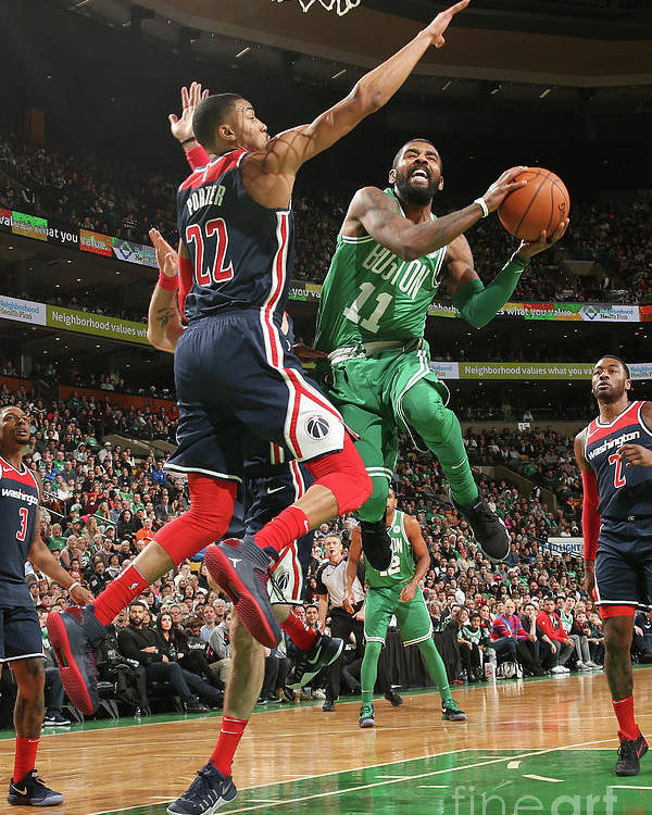 Nba Pro Basketball Poster featuring the photograph Kyrie Irving by Ned Dishman