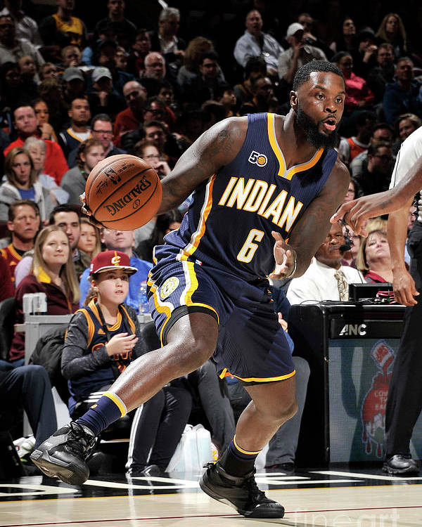 Nba Pro Basketball Poster featuring the photograph Lance Stephenson by David Liam Kyle