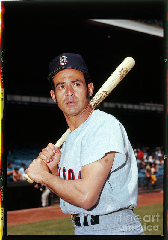 American League Baseball Poster featuring the photograph Luis Aparicio by Louis Requena