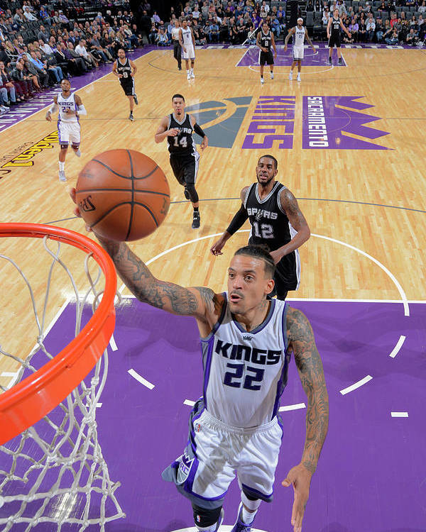 Nba Pro Basketball Poster featuring the photograph Matt Barnes by Rocky Widner