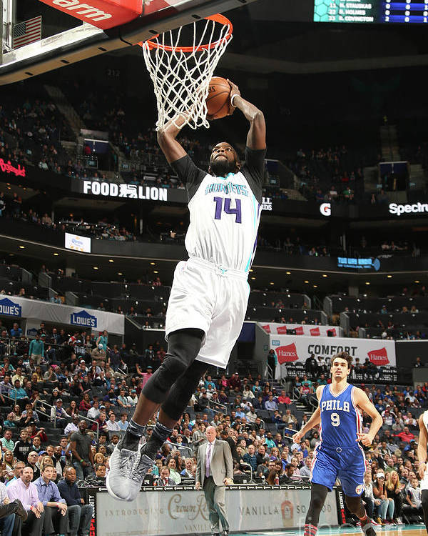 Nba Pro Basketball Poster featuring the photograph Michael Kidd-gilchrist by Kent Smith