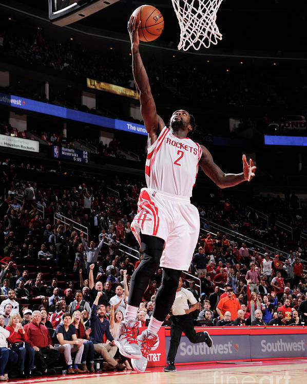 Nba Pro Basketball Poster featuring the photograph Patrick Beverley by Bill Baptist
