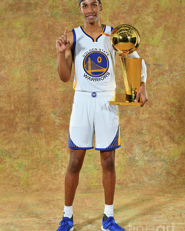 Playoffs Poster featuring the photograph Patrick Mccaw by Jesse D. Garrabrant
