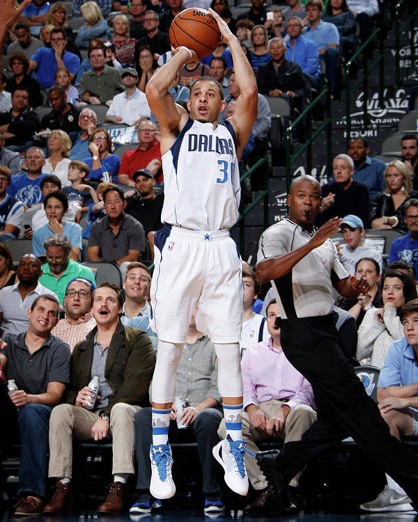 Nba Pro Basketball Poster featuring the photograph Seth Curry by Glenn James