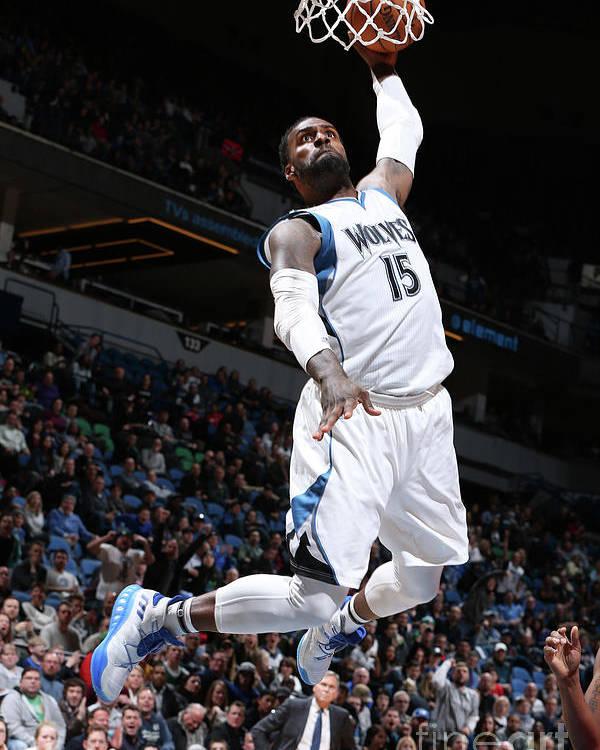 Nba Pro Basketball Poster featuring the photograph Shabazz Muhammad by David Sherman