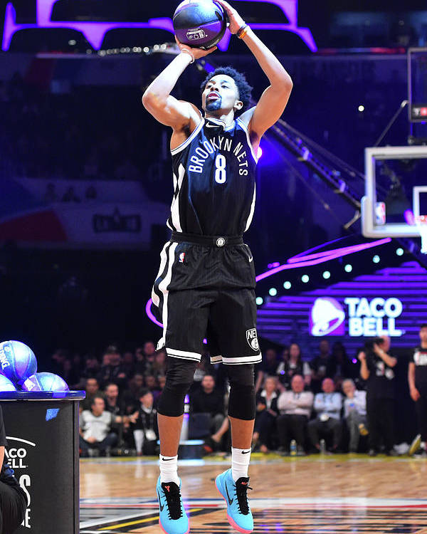 Event Poster featuring the photograph Spencer Dinwiddie by Jesse D. Garrabrant