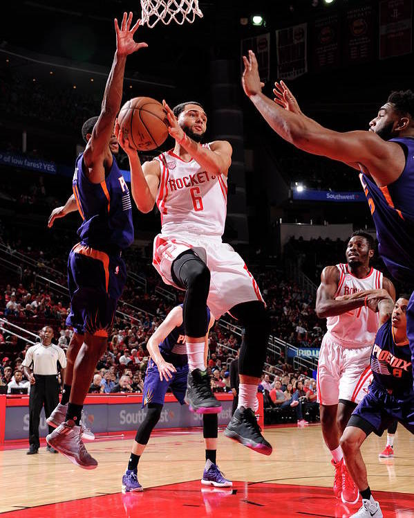 Nba Pro Basketball Poster featuring the photograph Tyler Ennis by Bill Baptist
